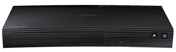 Samsung Blu-ray DVD Disc Player With Built-in Wi-Fi 1080p & Full HD Blu Ray Player