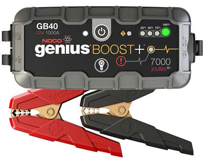 Best Car Battery Chargers - NOCO Genius Boost Plus Ultra Safe Lithium Jump Starter
