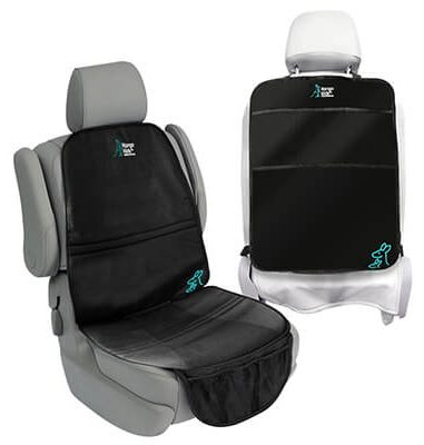 Car Seat Protector and Kick Mat. 2 Pack Car Seats