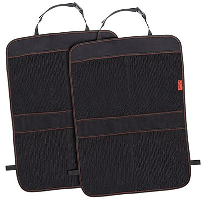 Kick Mat Car Seat Back Protectors with Odor Free Car Seat