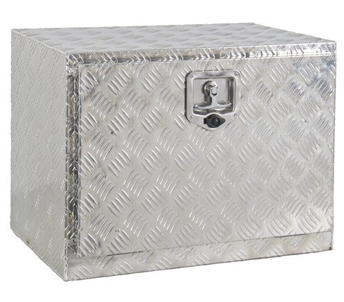 "Best Choice Products SKY1483 24"" Aluminum Under body Truck Tool Box"