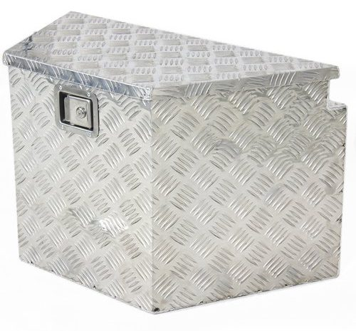 Best Choice Products SKY1485 Aluminum Trailer Tongue Tool Box
