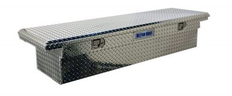 Brite Aluminum Single Lid Crown Series Low Profile Crossover Tool Box