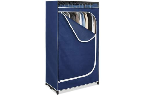 Whitmor Clothes Closet 36u201d With Blue Cover