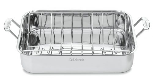 Cuisinart Chef's Classic Stainless 16-Inch Rectangular Roaster