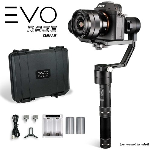 EVO Rage Gen2 3 Axis Gimbal for DSLR & Mirrorless Cameras