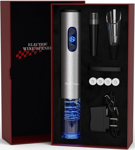 Electric Wine Opener with Charger-Automatic Wine Openers