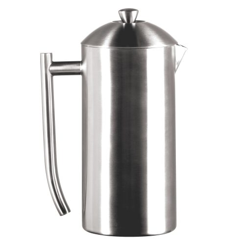 Frieling USA Double Wall Stainless Steel French Press Coffee Maker -Stainless Steel French Press Coffee Makers