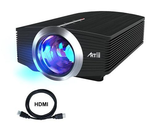 Home Theater,Artlii Video iphone Pocket Mini Projector