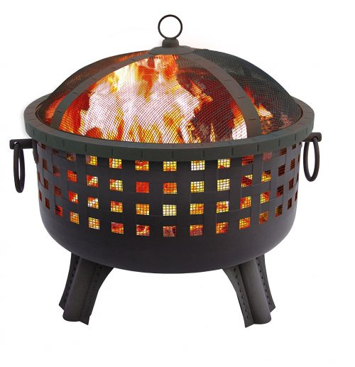 Landmann 26364 23-1/2-Inch Savannah Garden Light Fire Pit-Garden Light Fires
