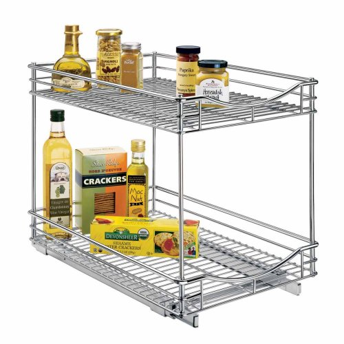 Lynk Professional Roll Out Double Shelves
