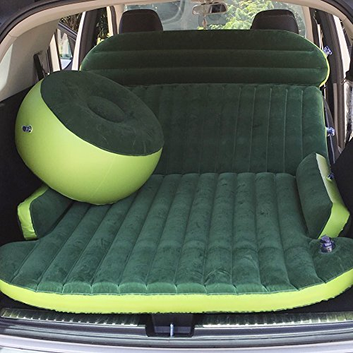 Merging Inflatable Car Bed for Back Seat Heavy -car air mattresses