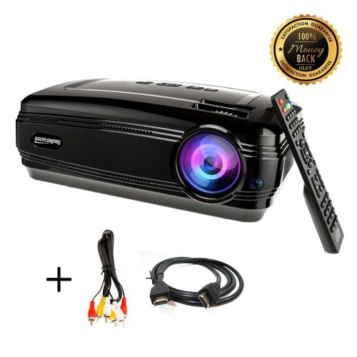 Sourcingbay BY58 1080P 3200 Lumens Efficiency LED Video Projectors