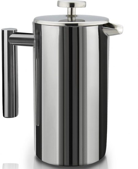 SterlingPro Double Wall Stainless Steel French Coffee Press Maker