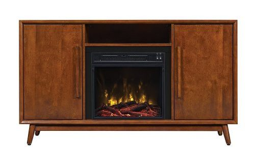 TV Stand with Electric Fireplace for TVs up to 60""