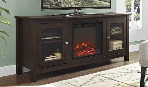 "WE Furniture 58"" Wood Media TV Stand Console"