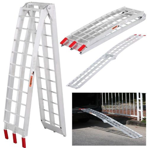 Yaheetech 7.5 ft Aluminum Motorcycle Loading Ramp-Truck Ramps