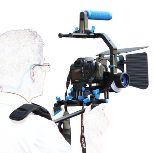 1. Morros DSLR Shoulder Rig Movie Kit - Best DSLR shoulder rig