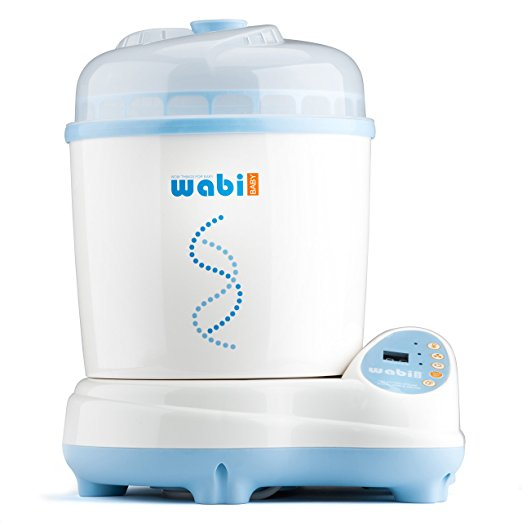 1. Wabi Baby Electric Steam Sterilizer and Dryer