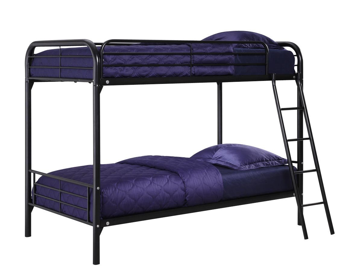 10. DHP Twin-Over-Twin Bunk Bed