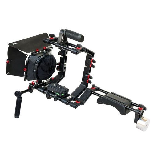 3. FILMCITY FC-02 DSLR Shoulder Support Rig Kit