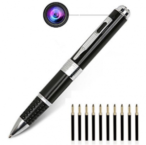 PANNOVO Camera Pen, 1080P HD Portable Mini Camera Video & Photo Recorder