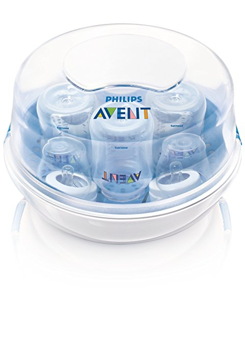 8. Philips AVENT Microwave Steam Sterilizer