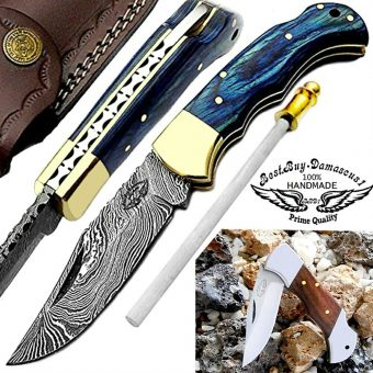 Best.Buy-damascus-pocket-knives