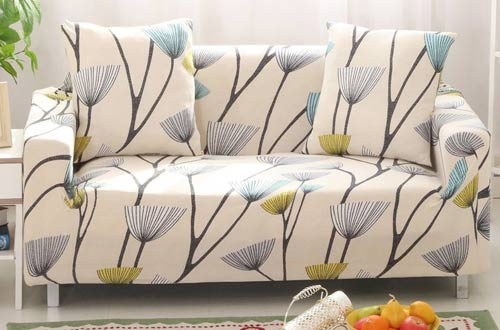 Lamberia Fabric Stretch Sofa Slipcover For Cushion Couch