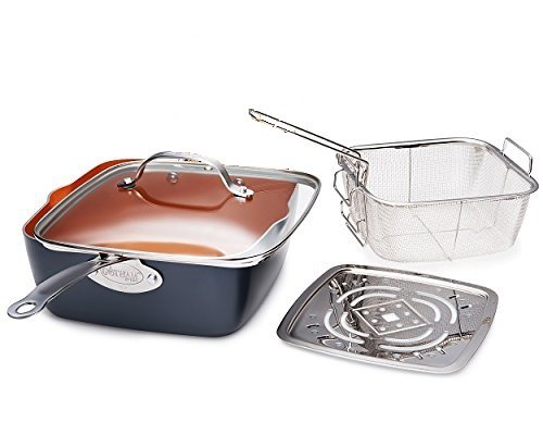 Deep Square Frying & Cooking Pan