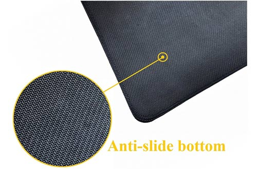 Vipamz Extended XXXL Non-slip Rubber Base Textured Weave Gaming Mouse Pad
