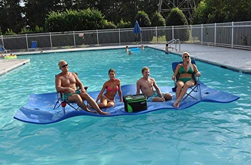Top 10 Best Inflatable Floating Water Mats Reviews In 2019