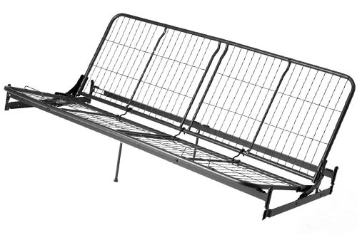 Full Size Metal And Wood Futon Frames