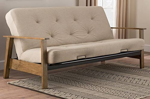 Top 10 Best Full Size Metal And Wood Futon Frames In 2019