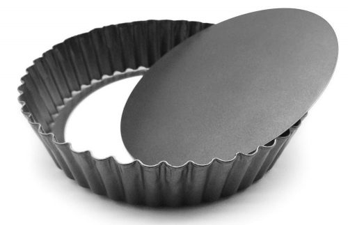 HOMOW Nonstick Heavy Duty Tart Pan With Removable Bottom, Removable Loose Bottom Quiche Pans