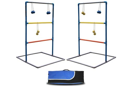 Maggift Ladder Toss Game Set Ladderball Game Set