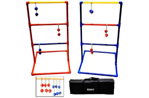 Sports Festival Premium Ladder Ball Toss Game Set