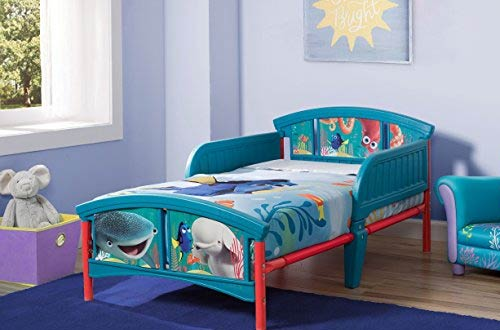 Delta Children Pixar Finding Dory Plastic Bed for Toddler