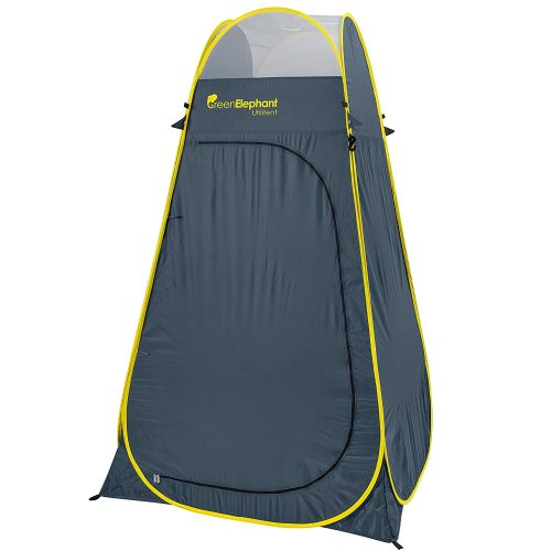 Privacy Portable Camping, Biking, Toilet, Shower, Beach and Changing Room Extra Tall, Spacious Tent Shelter