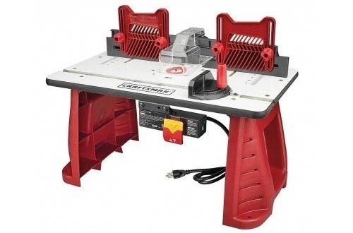 Router Table Craftsman Perfect For Woodworking In Your Garag