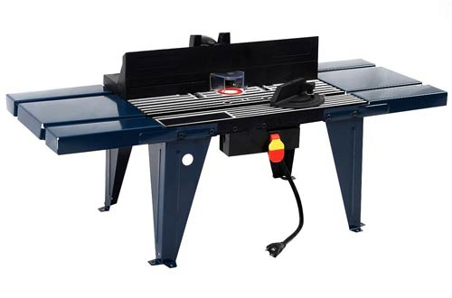 Goplus New Electric Aluminum Router Table