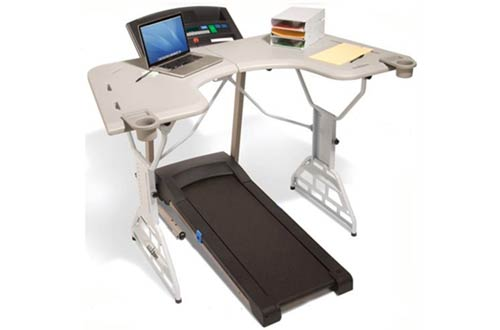 TrekDesk Treadmill Desk - Walking and Standing Desk