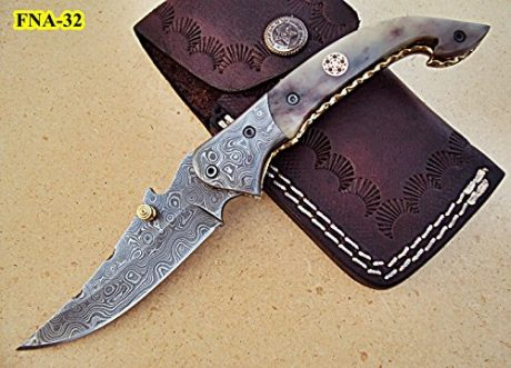 Poshland-Knives-damascus-pocket-knives