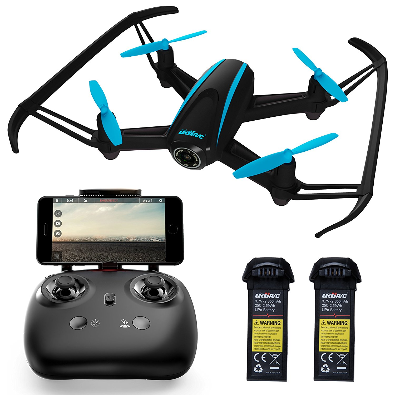 2. Force1 RC Camera Drones for Kids & Pros