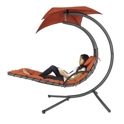 3. Best Choice Products Hanging Chaise Lounger - Best Hammock Chair