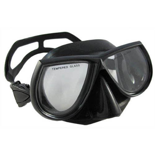 3. Scuba Choice Scuba Diving Black Silicone Mask
