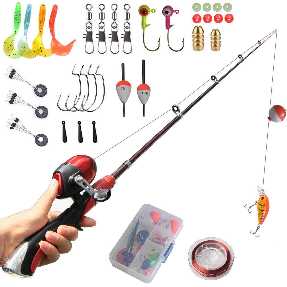 4. Kids Fishing Pole