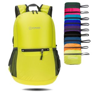 55acd09e2ad7 ZOMAKE Ultra-Lightweight Packable Backpack Water Resistant Hiking Daypack