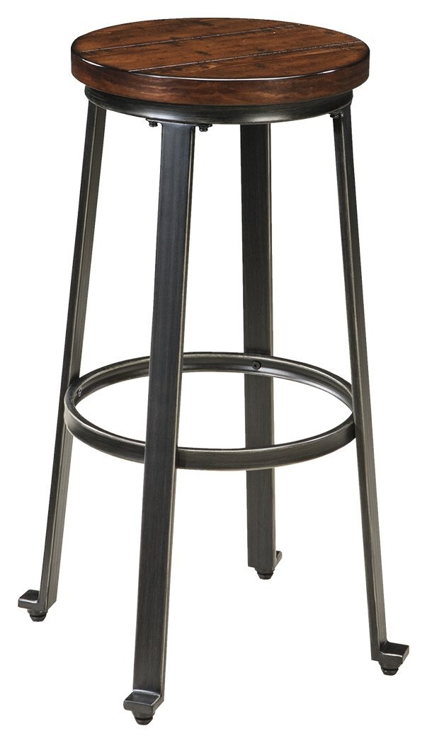 5. Ashley Furniture Signature Challiman Bar Stool (Set of 2)
