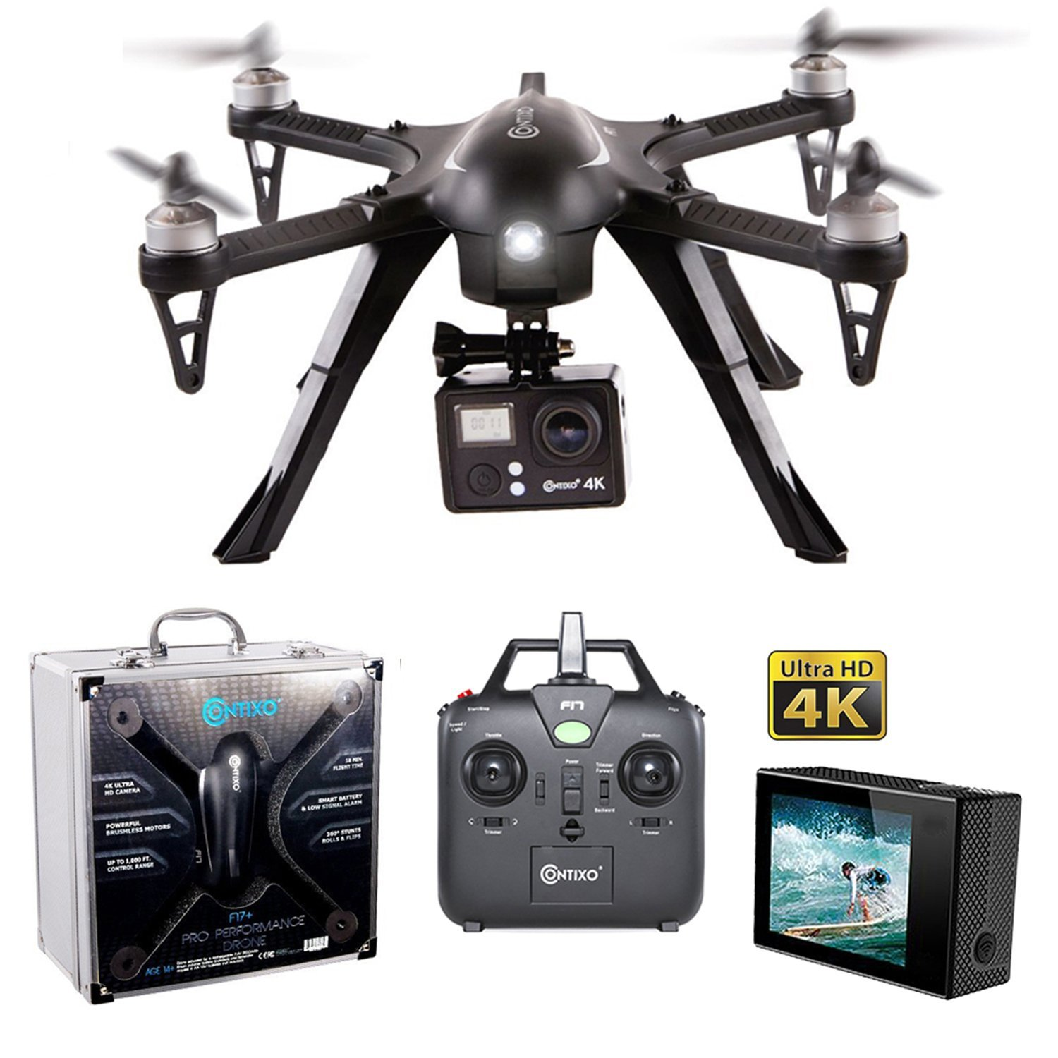 6. Contixo F17+ RC Quadcopter